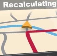 Next Stop…Recalculating