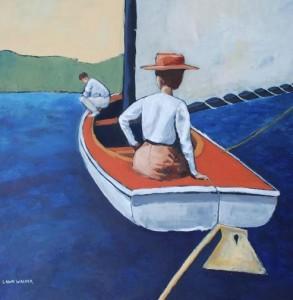 Sailing by Lawn Walker