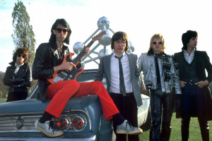 Photo of Ric OCASEK and CARS and Greg HAWKES and Elliot EASTON